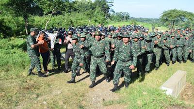 Minggu Militer: Kodim 0727 Karanganyar Gelar Foot Mobility