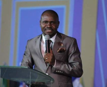VIDEO: South African based pastor, Samuel Akinbodunse revealed 'The next president of Nigeria'