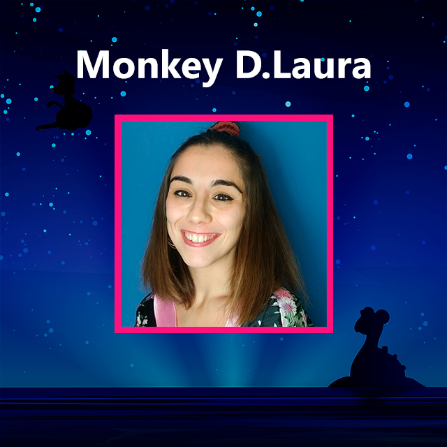 Imagen con el logotipo de Monkey D. Laura