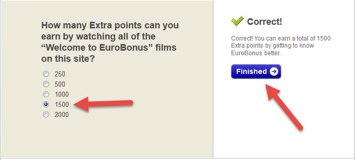 أحصل على بطاقة eurobonus