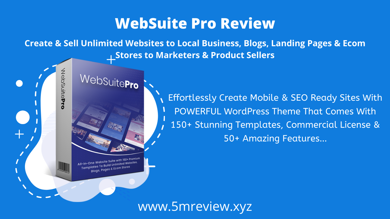 WebSuitePro Review - Create Stunning WordPress Website Loaded With 150+ Professional Premium Templates