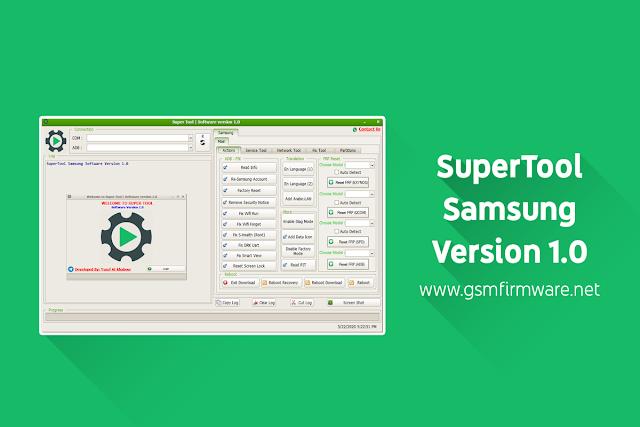 SuperTool Samsung Software Version 1.0