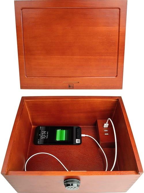 Blake & Lake Multi Device Charging Box with Lock