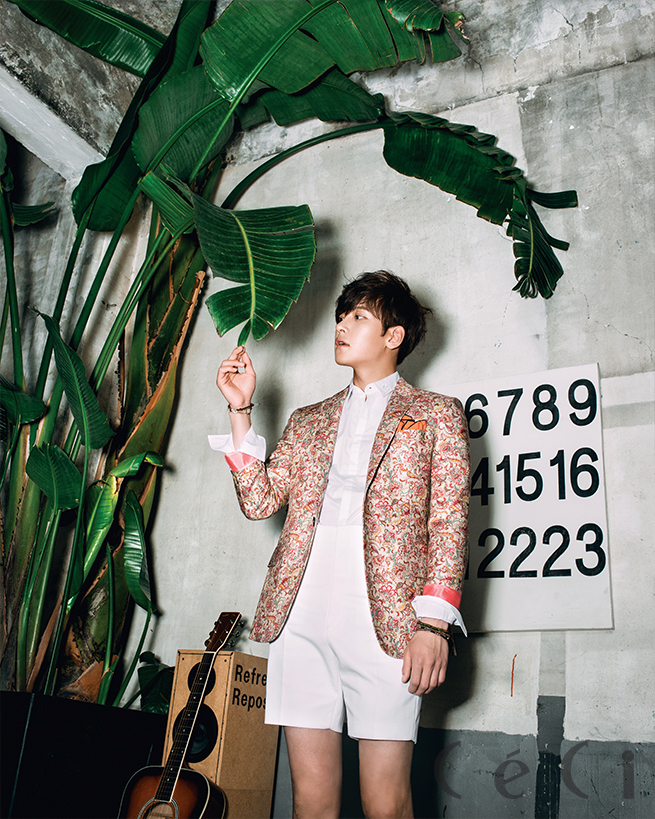 Ji Chang Wook Ceci Korea June 2014
