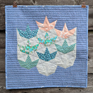 The Seedling Quilts book Peppermint quilt