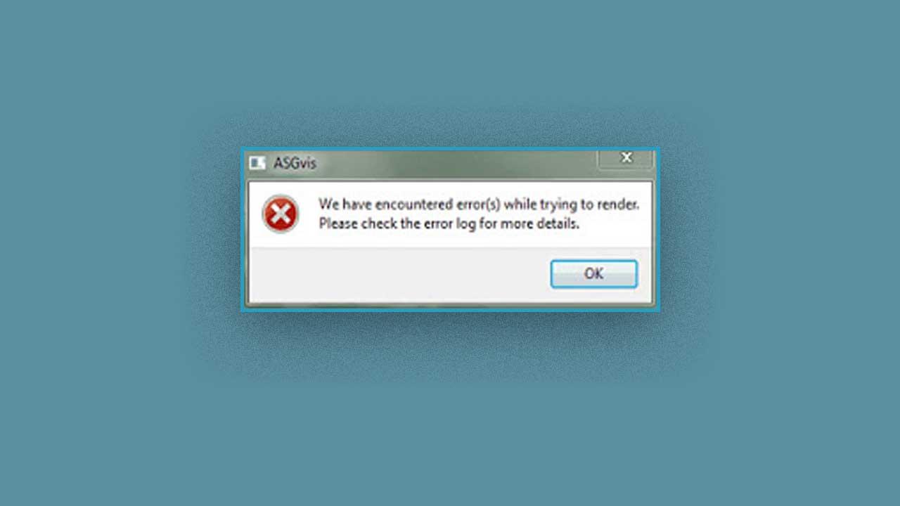 Cara Mengatasi Error ASGvis di Vray Sketchup