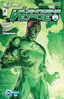 Os Novos 52! Lanterna Verde #2