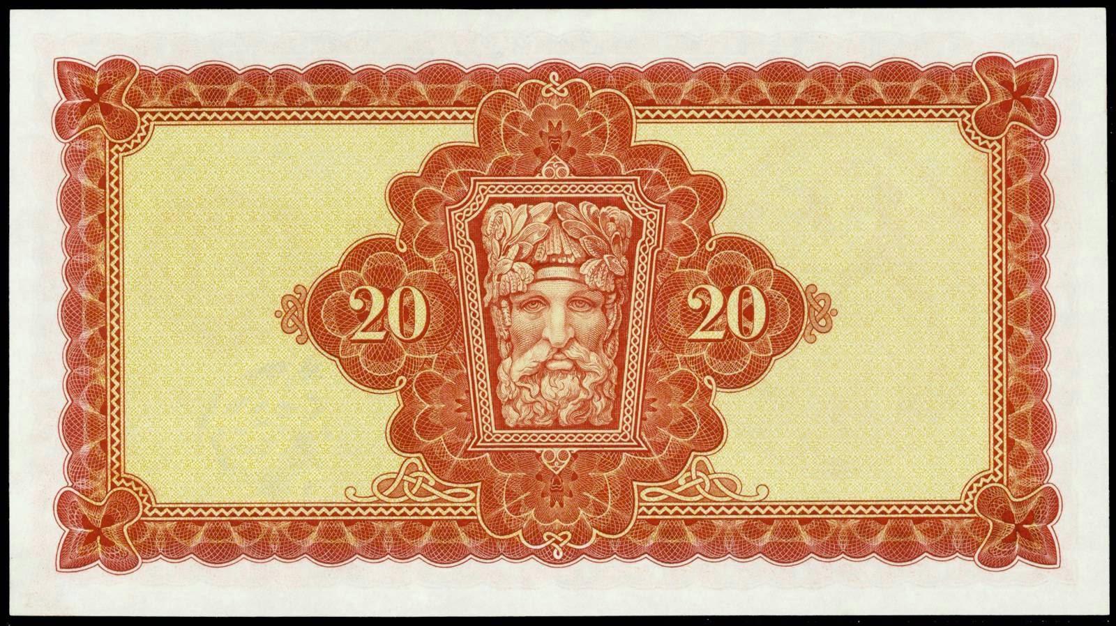 Irish Banknotes Twenty Pound Note