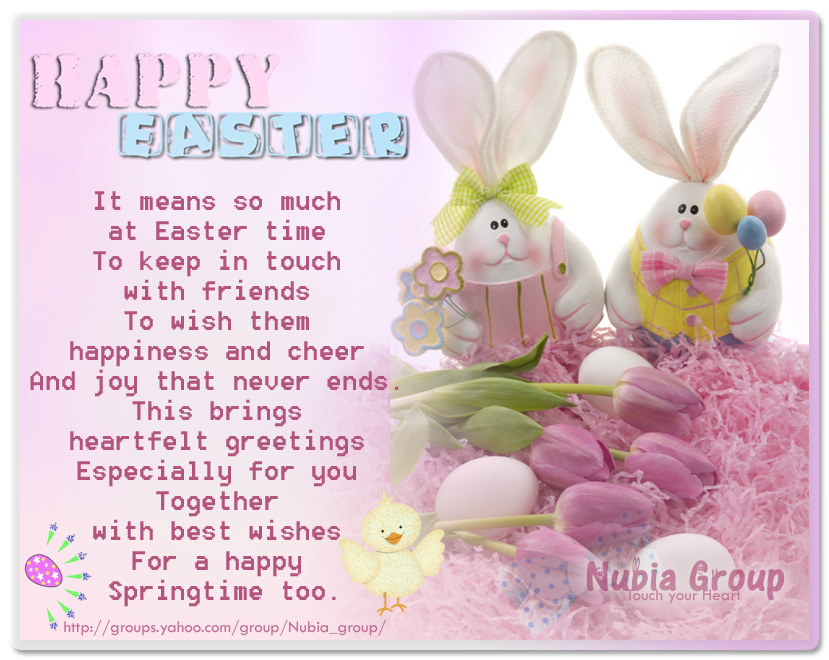 Nubia_group Inspiration *: Happy Easter dear friends //