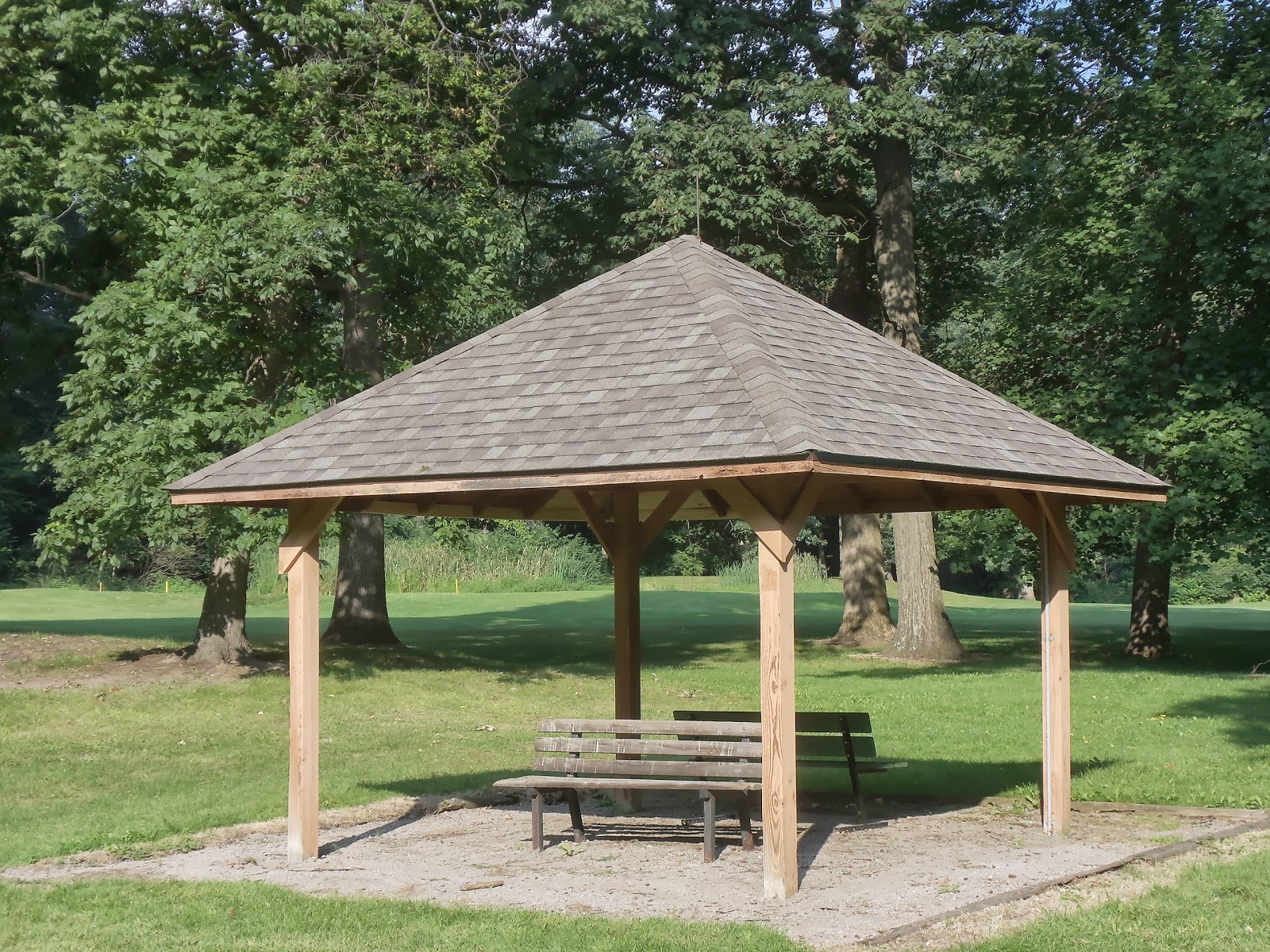 Tree Town Turf Guy Huron Rain Shelters