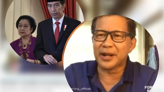 Bukan Puan-Moeldoko ataupun Jokowi-Prabowo, Rocky Pilih Mega-Jokowi 2024