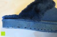 Gummisohle: BOnova® Helsinki - Warme und kuschelige Hausschuhe aus echtem Lammfell in 5 Farben für Damen