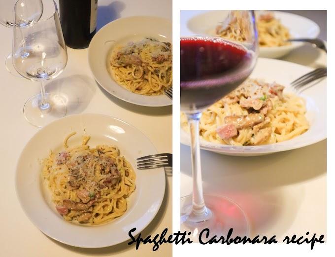 Recipe: Spaghetti Carbonara*