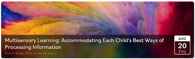 colorful swirls of multisensory learning