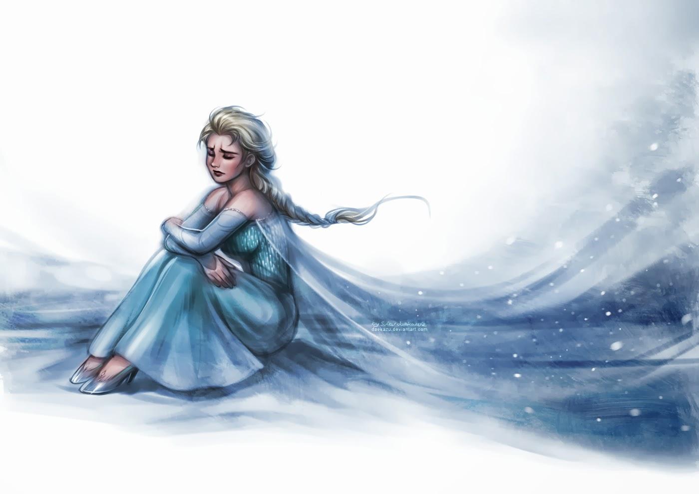 Elsa Saudades De Voces: Disney Cast: Tudo Congelado