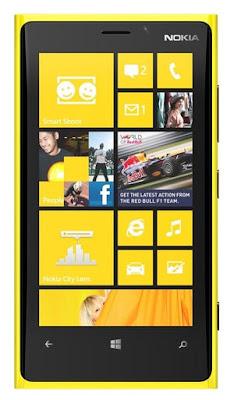Penghargaan Yang di Peroleh Nokia Lumia 920 di Seluruh Dunia