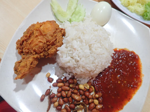 nasi lemak food garden klia