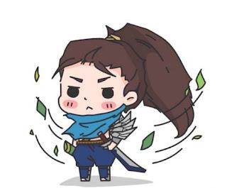 Ảnh Avatar LMHT Yasuo Chibi Đẹp Cute