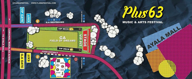 Plus63 Music and Arts Festival Stage details