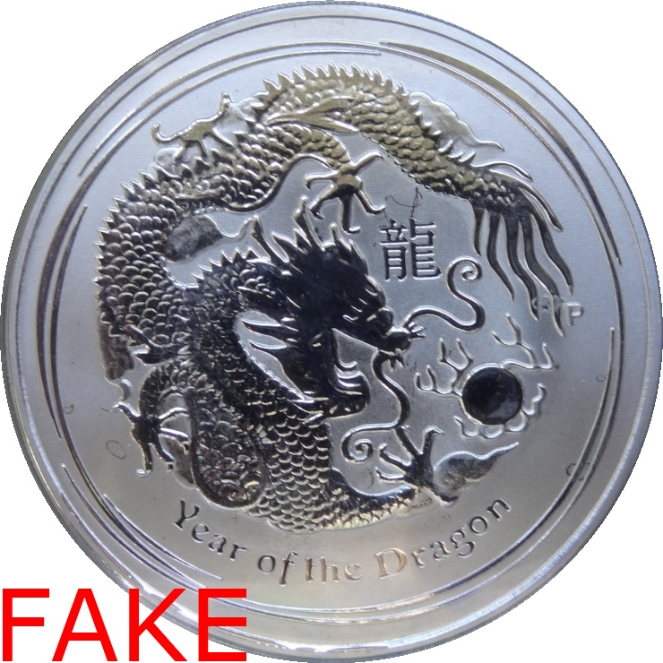 Counterfeit Silver Lunar Dragons Don T Get Stung