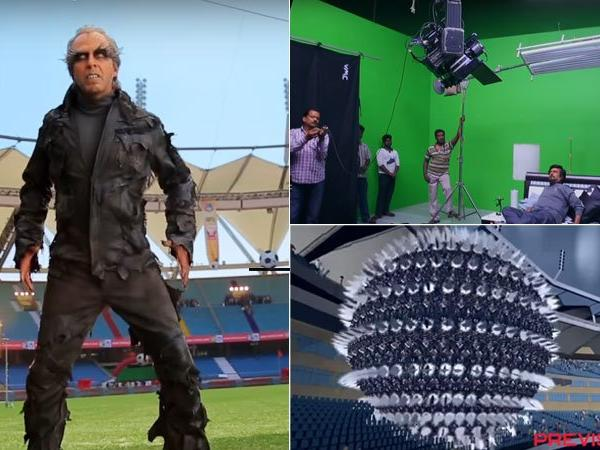 2.0 is First Indian Film to be completely shot in 3D - Mythgyaan