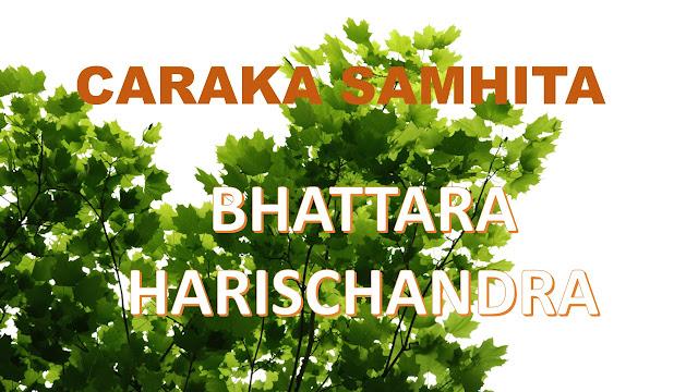 komentator caraka samhita-bhattara hariscandra