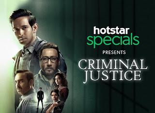 Criminal Justice Web Series Seasons 1 720p 480p HD Download