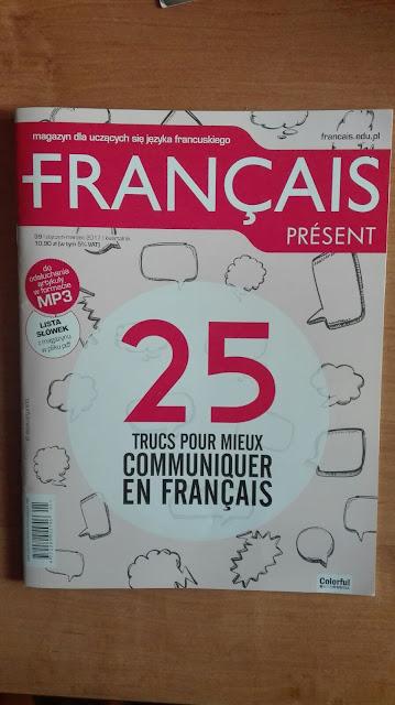 """Français Présent 39/2017 + 40/2017"" - okładka czasopisma 2 - Francuski przy kawie"
