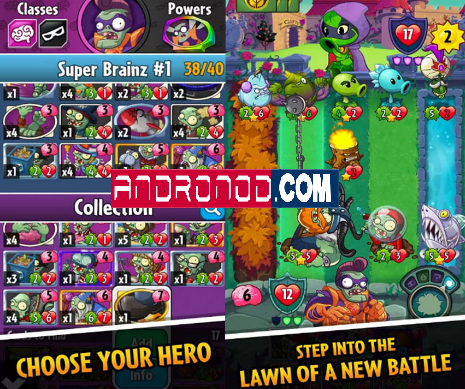 Plants vs Zombies Heroes v1.8.26 Mod Apk