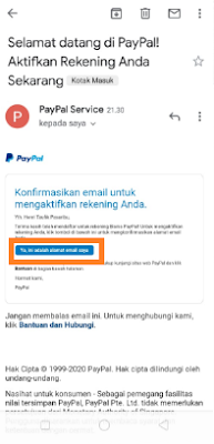 Cara Daftar Akun Paypal