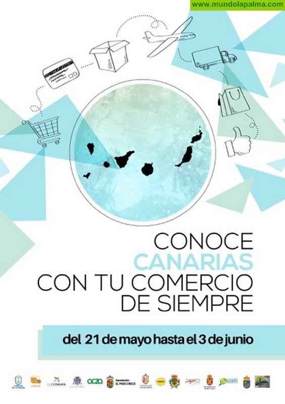 FEDEPALMA inicia una campaña para dinamizar el comercio de la Isla con motivo del Día de Canarias