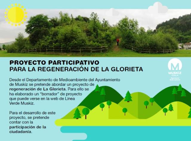Muskiz abre un proceso participativo para que los vecinos aporten ideas para recuperar La Glorieta