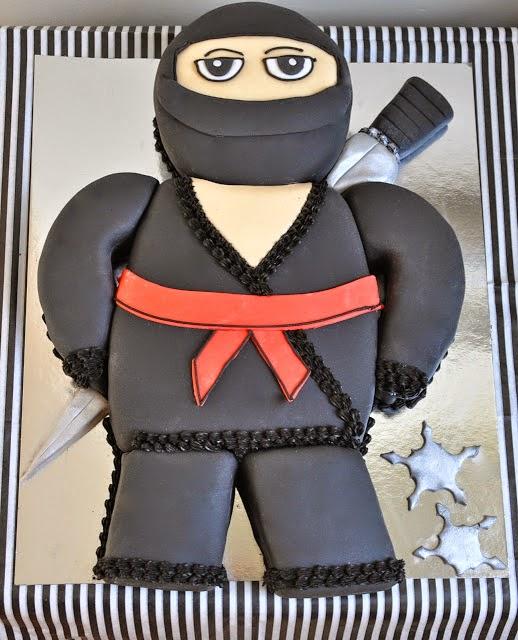 Rozanne's Cakes: Black Ninja Cake - Cakes Northern Suburbs
