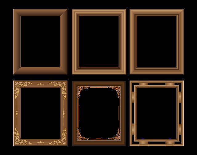 bingkai kayu