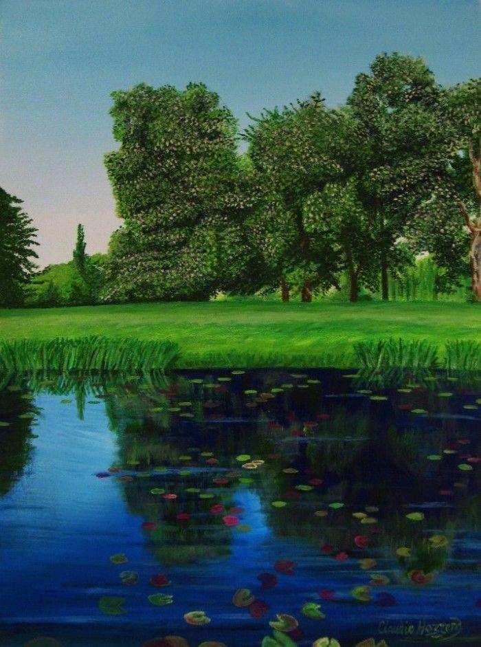 Британский художник-пейзажист. Claudia Hazzard