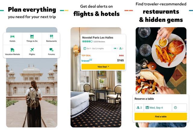 تطبيقات السفر والسياحة للايفون