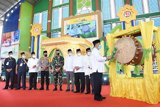 Bupati H Ashari Tambunan Resmi Buka MTQ Ke-54 Kabupaten Deli Serdang