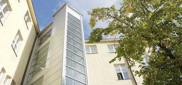 L ascensore esterno tipologie soluzioni prezzi edilizia in un click - Quanto costa un ascensore esterno ...