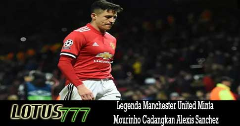 Legenda Manchester United Minta Mourinho Cadangkan Alexis Sanchez