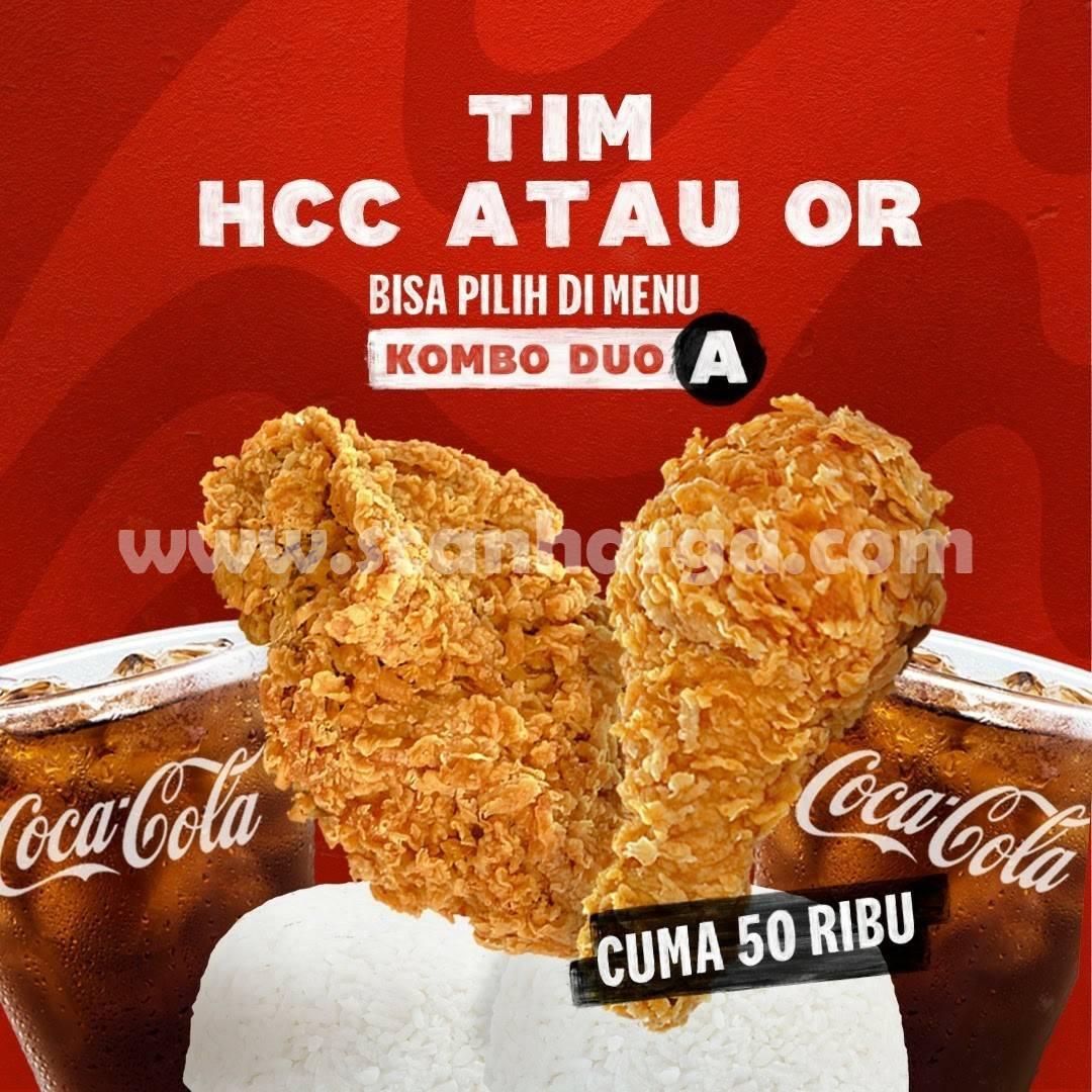KFC COMBO DUO Ada Pilihan Baru - Harga Promo Masih Rp. 50.000 2