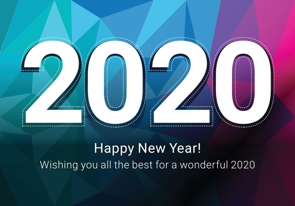 Happy New Year 2020 HD Wallpapers - POETRY CLUB