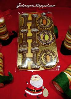 galletas navideñas papá noel