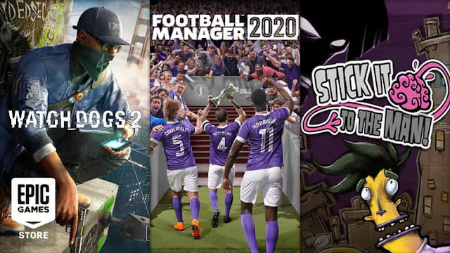 Game Watch Dogs 2 dan Football Manager 2020 PC Gratis