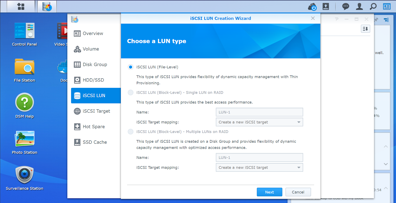 Setting up iSCSI with Synology - Dynamics 365 for Finance and