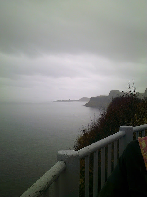 View from Kilt rock