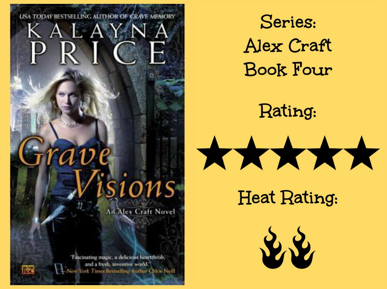 Sunny Buzzy Books Review Grave Visions By Kalayna Price