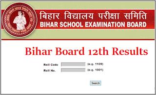 Bihar Board 2020 Examination Class 12th Result