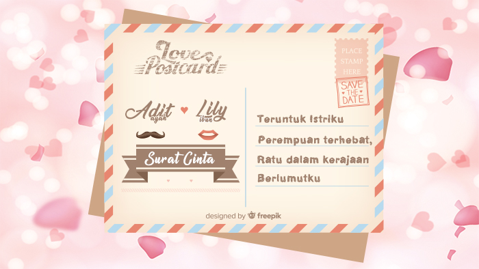 Surat Cinta Untuk Istri