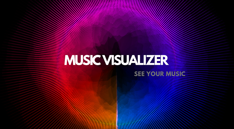 Tạo hiển thị sóng nhạc trên màn hình, sử dụng desktop như một công cụ giải trí trên Laptop và PC