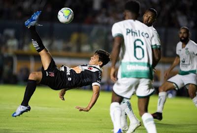 Confira os relacionados e o provável time titular do Vasco para o duelo contra o Goiás